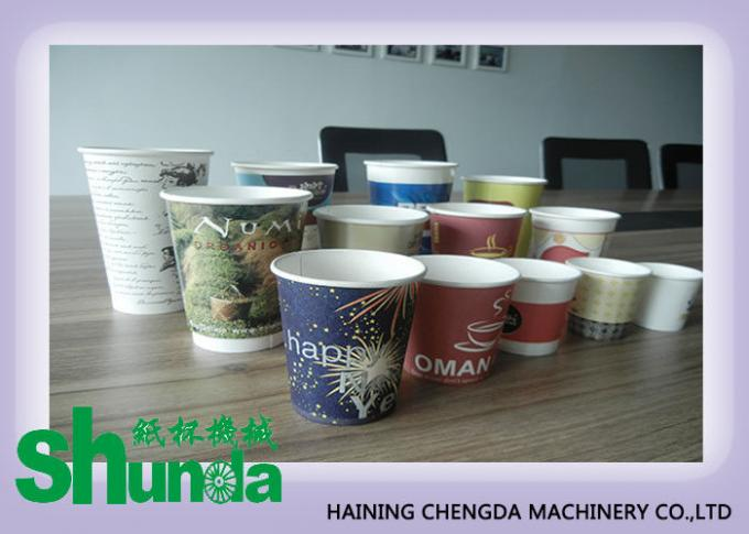 Terbaru Full Automatic Disposable Paper Cup Membuat Mesin 380V, 60HZ, 12KW