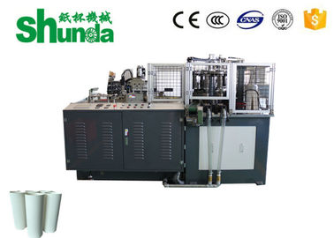 Cina Automatic Hot And Cold Drink Paper Cup Forming Machine Dengan Kontrol Motor Servo 12kw Distributor